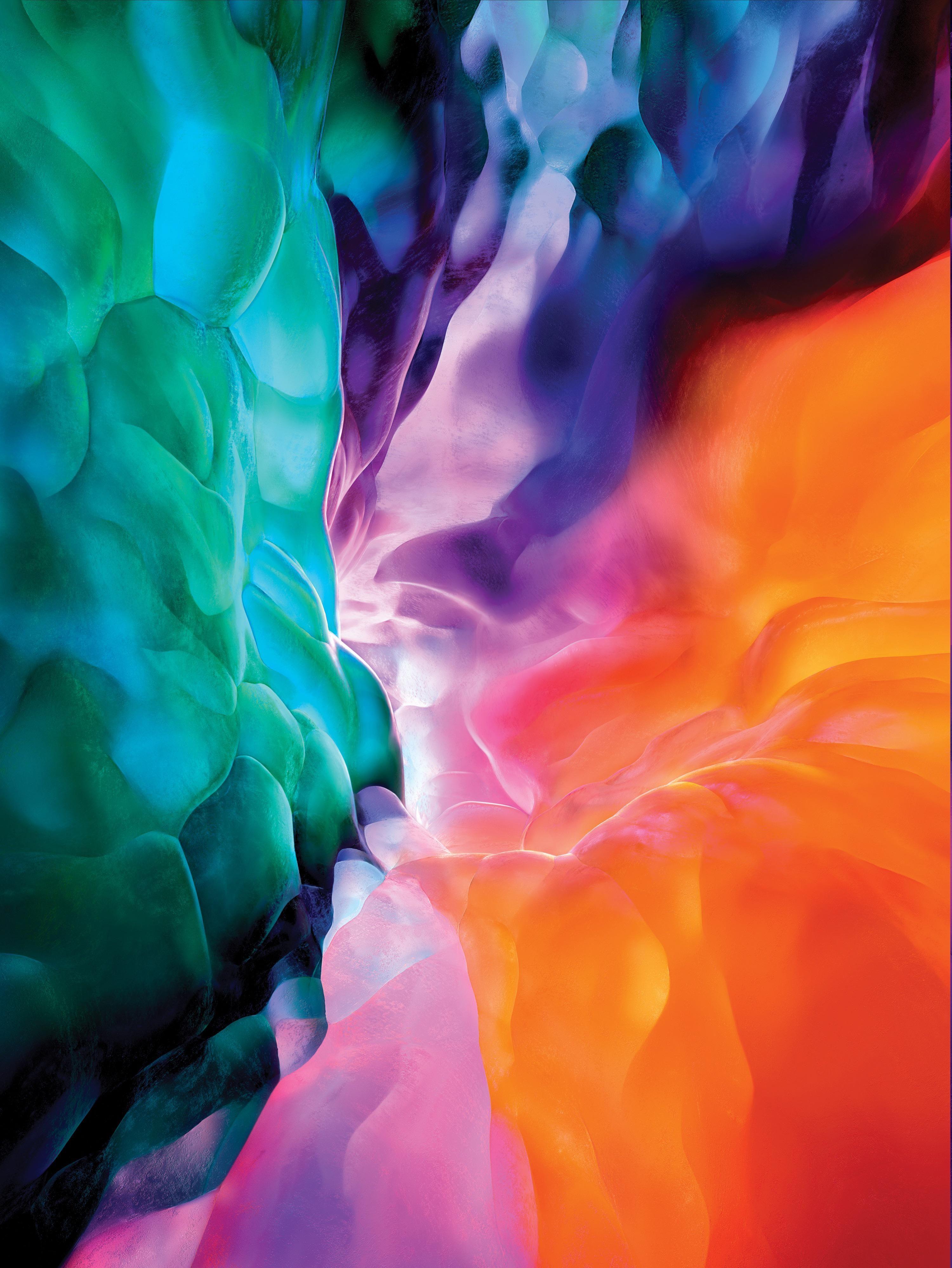 New Ipad Pro 2020 Wallpaper Wallpaper Ipad Seni Huruf Abstrak