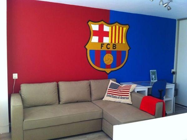 fc barcelona kamer - google zoeken | home & living | pinterest, Deco ideeën