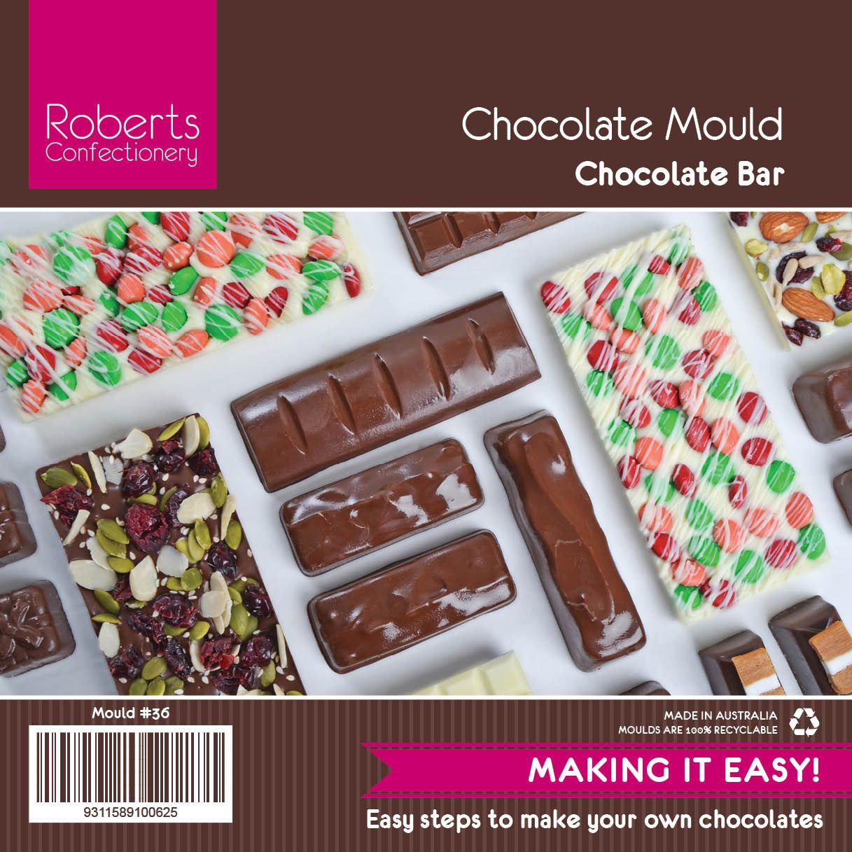 Diy Chocolate Bars Endless Possibilities With This