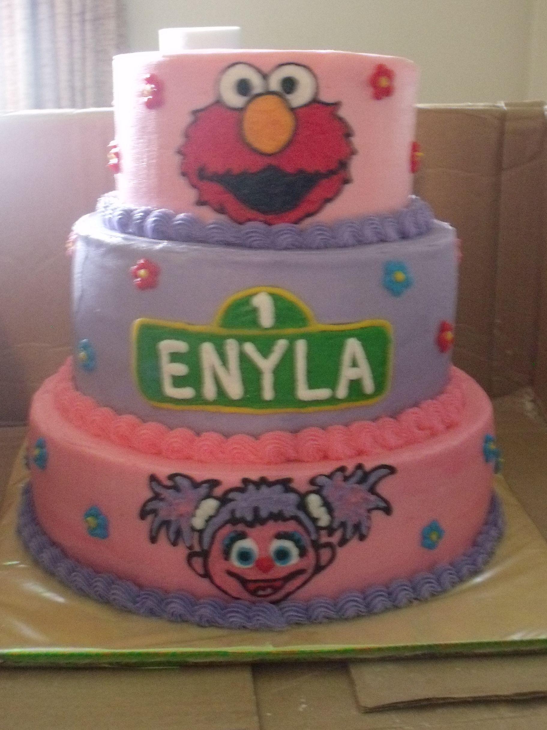 Abby Cadabby Elmo Cake With Images Elmo Birthday