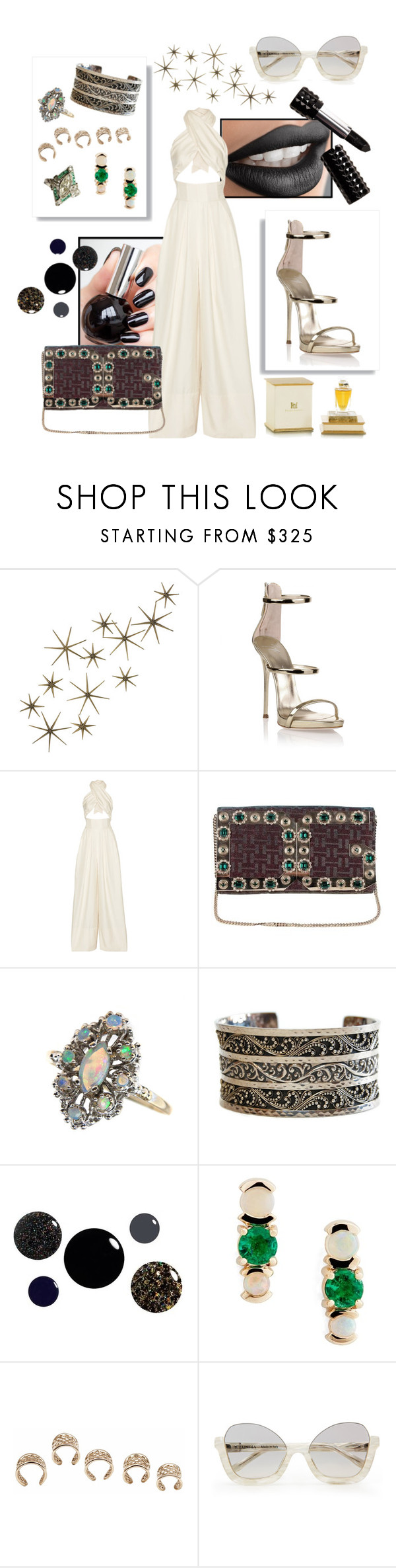 """""""Shine bright!"""" by jammin8 ❤ liked on Polyvore featuring Global Views, Giuseppe Zanotti, Rosie Assoulin, Dolce&Gabbana, Lois Hill, Kat Von D, Mociun, Bernard Delettrez and Henry Jacques"""