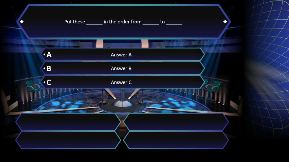 Who Wants To Be A Millionaire Powerpoint Template Powerpoint Templates Powerpoint Games Powerpoint