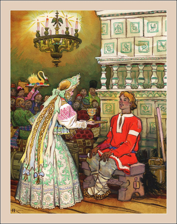 Sivka-Burka. Illustrator Nikolay Kochergin. | Fairytale art ...