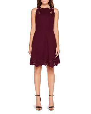 b08bbb16f8 TED BAKER Emmona Embroidered Skater Dress.  tedbaker  cloth  dress ...