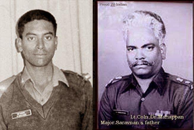 Major Mariappan Saravanan — Indian Kargil War Hero | INDIA