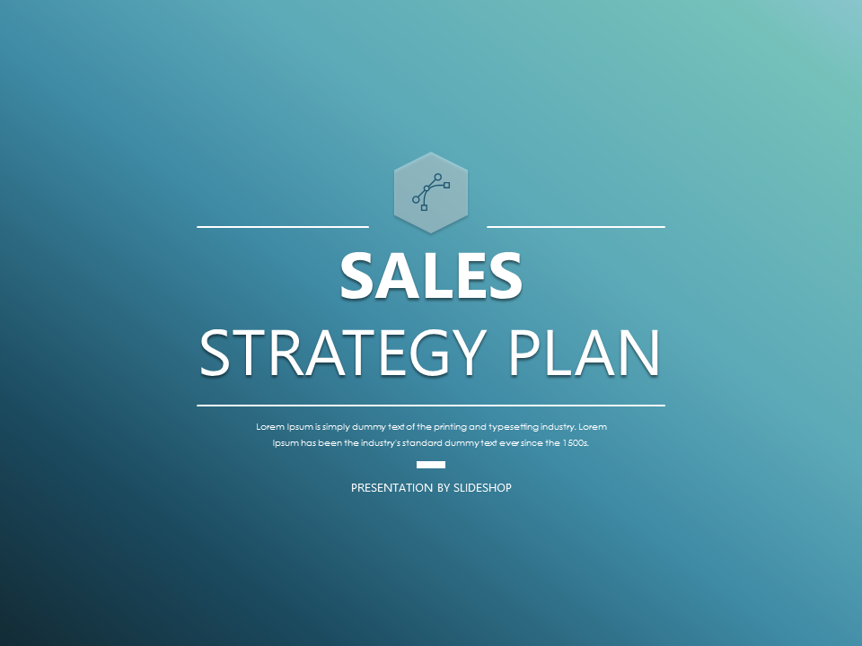 Powerpoint  Sales Strategy Plan  Projects To Try