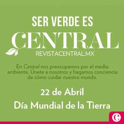 Celebra con nosotros el #DiaDeLaTierra y la #NotaVerde del mes. Descubre el sabor sin contaminantes con #DELBIEN en #RevistaCentral