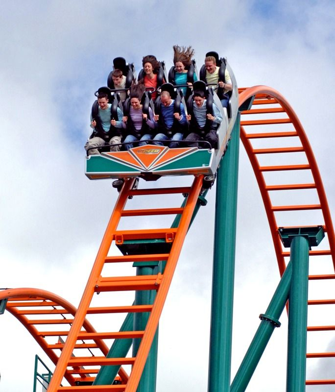 Speed: No Limits, Oakwood #ThemePark. #rollercoaster | #