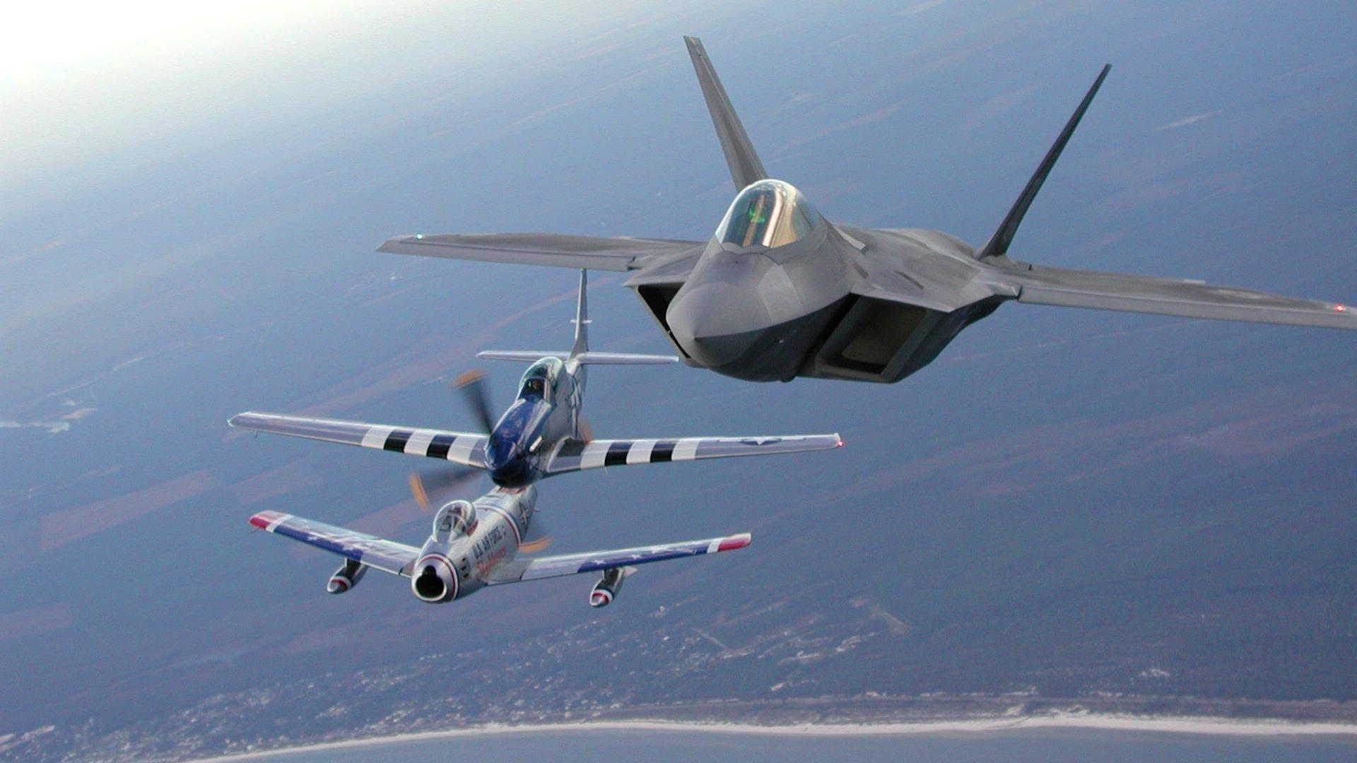 Обои F-86 Sabre, Самолёт. Авиация foto 9