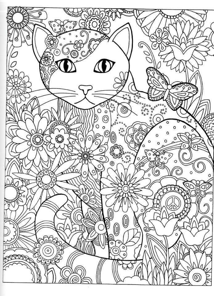 Pin de Silvia eg en Dibujos para colorear | Pinterest | Gato ...
