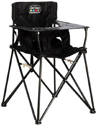 Ciao Baby Portable High Chair Black Travel High Chair