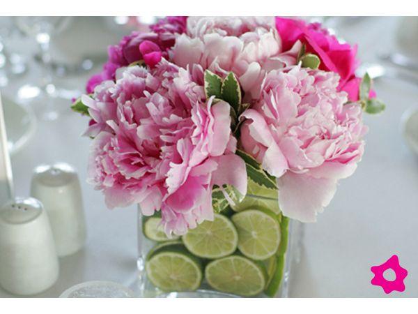 Centros de mesa para boda con accesorios Mi boda Pinterest