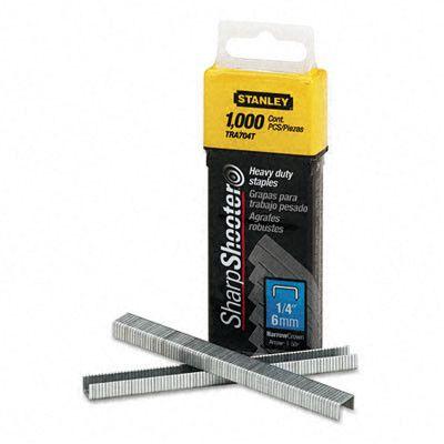 Sharpshooter 1 4 Inch Leg Length Staples 1 000 Box Set Of 3 Affordable Carpet Carpet Underlay Roofing Felt