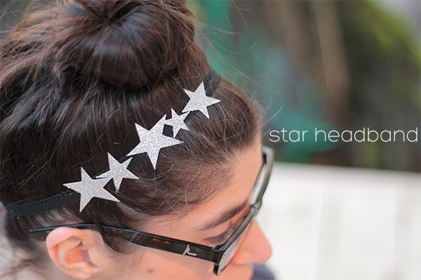 Star Headband DIY from Squirrelly Minds