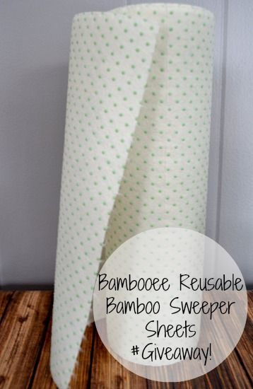 Bambooee Reusable Sweeper Sheets #giveaway Ends 3/5