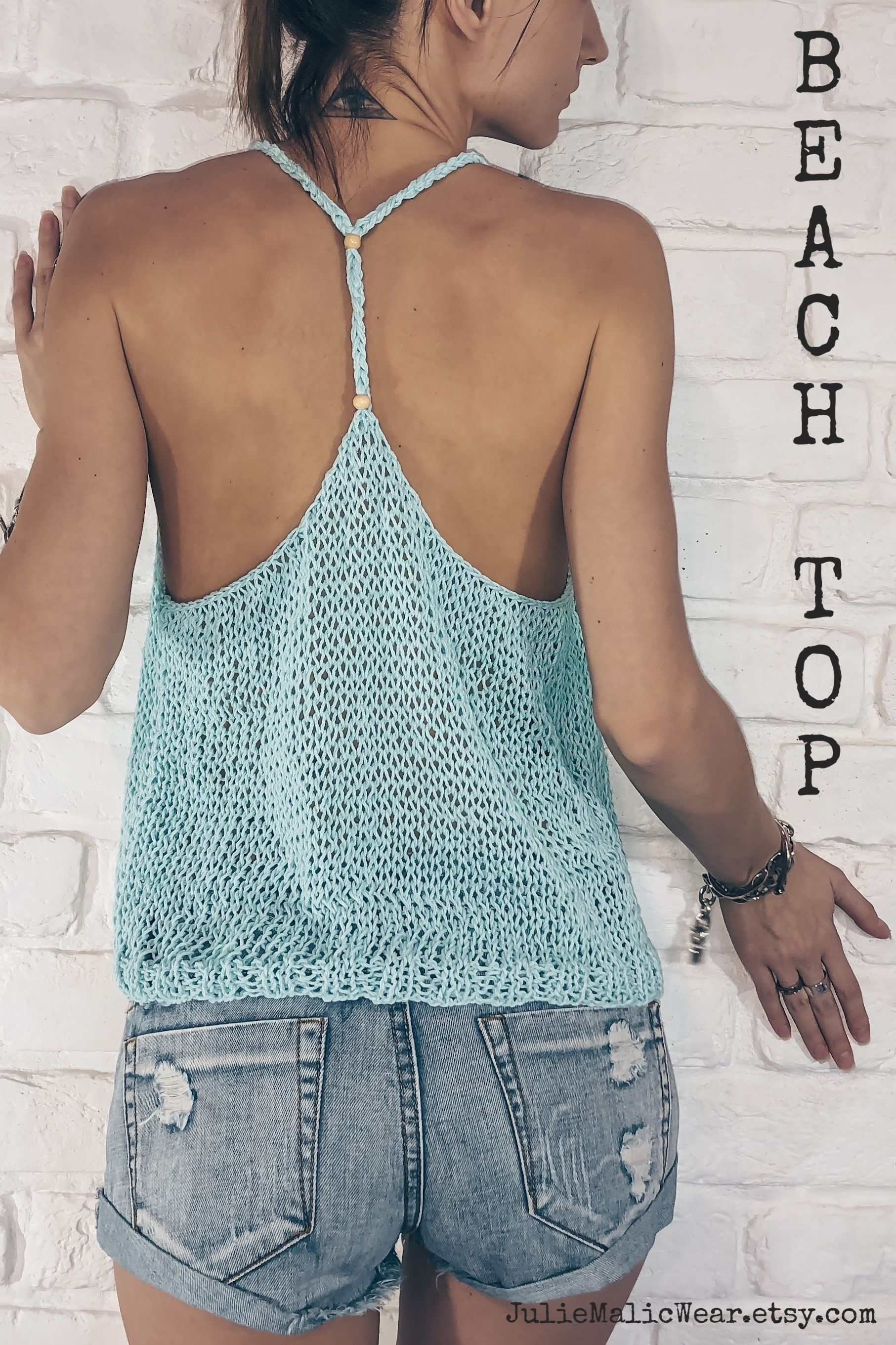 Open back halter top style cropped bra top shirt Crochet crop top Womens handmade crop top shirt Boho clothing Minimalist fashion