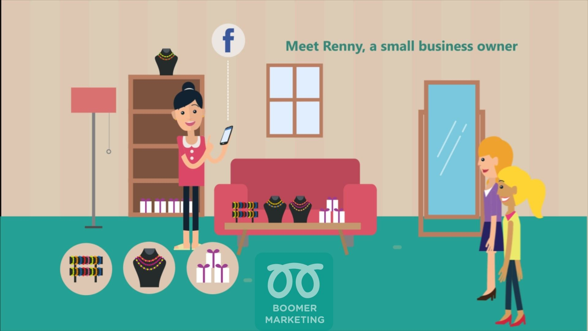 Boomer marketing app free website live chat with your customers