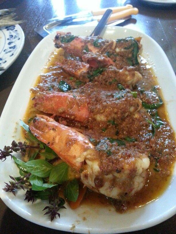prawn king giant super meat beverages bangkok seafood drink food