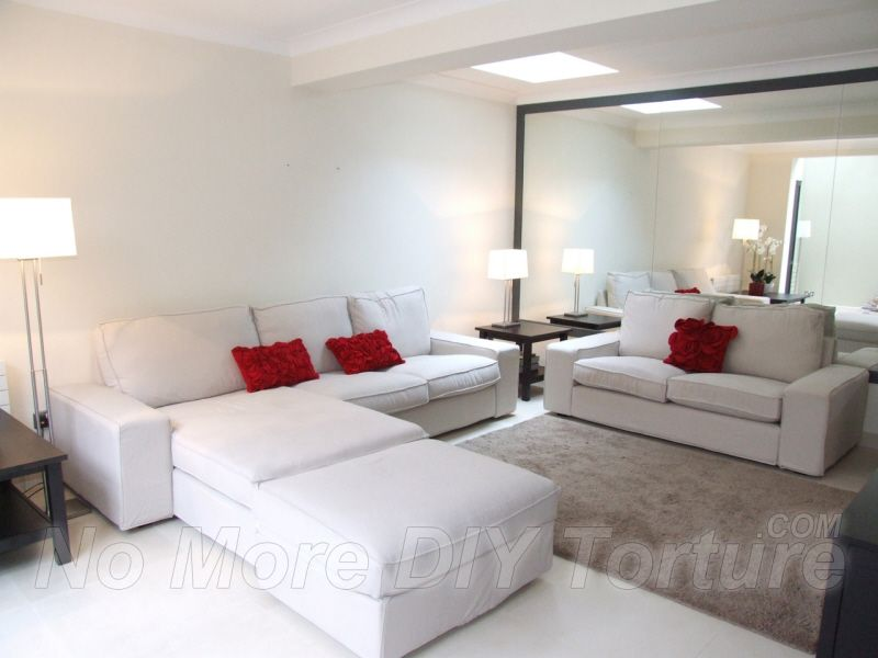 Living Room Furniture Ikea Kivik Sofa And Chaise Lounge Sofa Bed