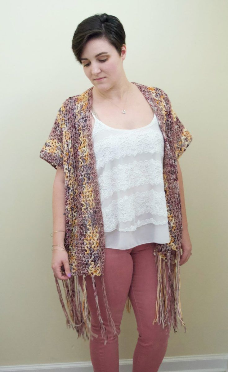 Summer Sunset Kimono | Crochet Patterns | Crochet, Crochet