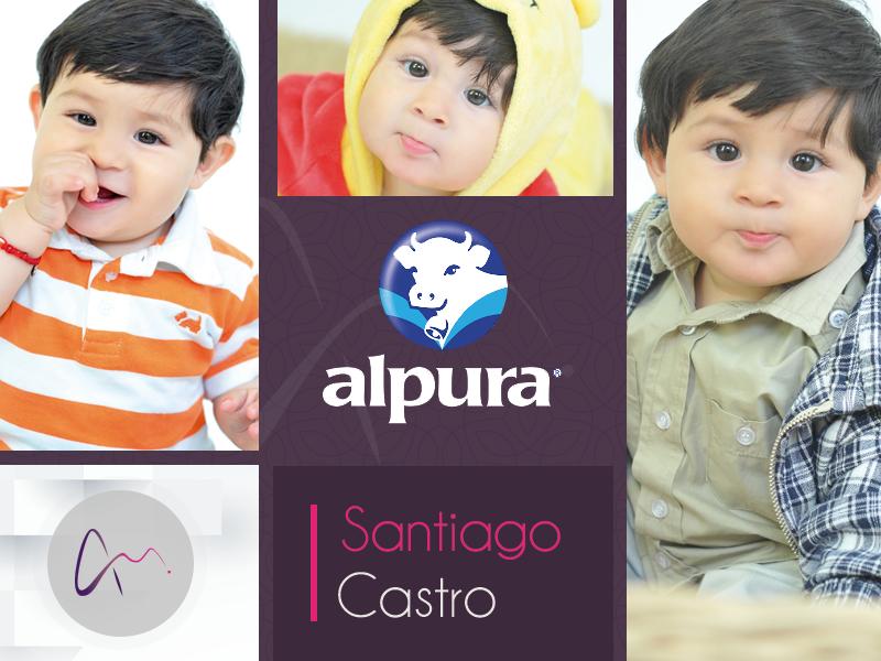 Nuestro talento Santiago en la grabación del comercial para Alpura ¡Felicidades!