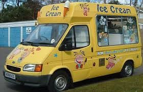 Do you remember this guy driving past your house? I still remember the sound of the chimes calling me to buy a cone with a Flake in it.