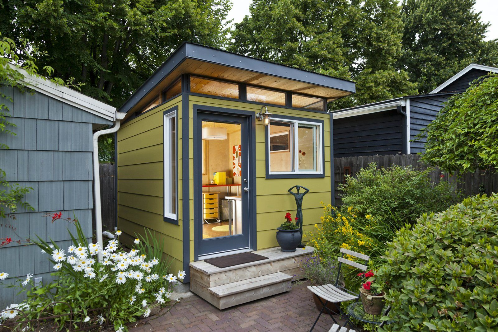 Modern She Shed Designs And Ideas Shed Design Backyard Storage