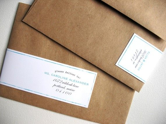 Wrap Around Address Label So Simple