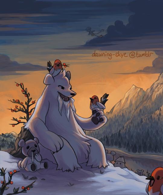 Cubchoo Beartic Fletchling Pokémon Pinterest Pokémon Best