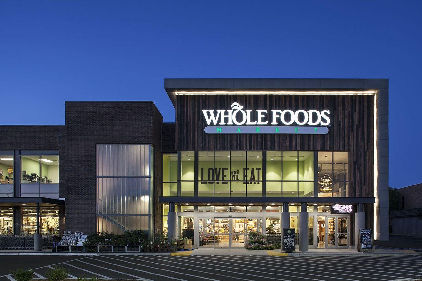 Whole Foods Fachadas Comerciais Edificios Modernos