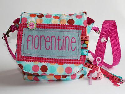 Madame Blanc: Freebook Kindertasche nähen | _sew: Bags | Pinterest ...