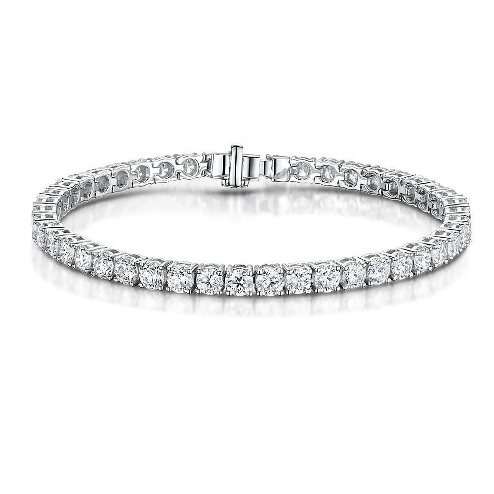 Angara Four Prong Diamond Tennis Bracelet bpRgiDOCb