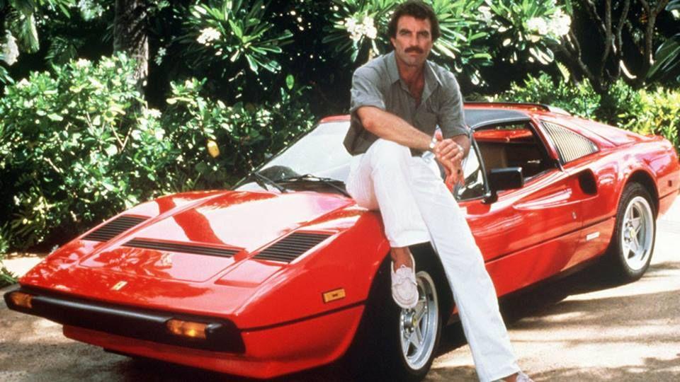 Magnum Ferrari 308 Gts Magnum Pi Ferrari Tv Cars Magnum Pi