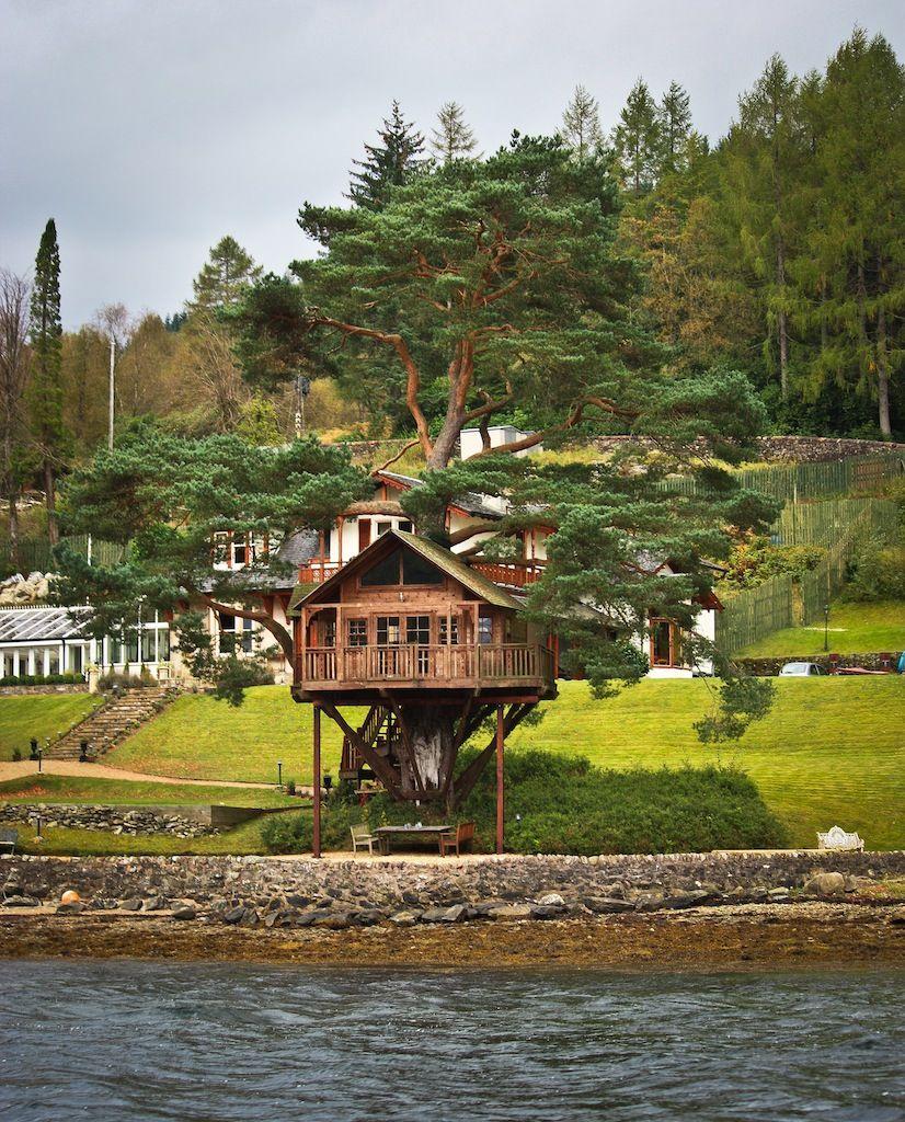 Tree House Loch Goil Scotland