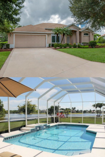 Stunning, expansive waterfront views from this Sawgrass Lakes - Crane Point home. This 3/2 home has 150 MPH Hurricane Impact with Vinyl Frames on all Windows and Sliders, Solar-Heated & screened-in Pool, Child Safety Gate, a 2 Car Garage, Stainless Steel Appliances, 42-inch Cabinets with crown molding, Silestone Kitchen Counter Tops, upgraded fans & light fixtures, and an alarm system. Impressive Master Bedroom and Bathroom has updated vanity with quartz counter-tops and LED lighting and…