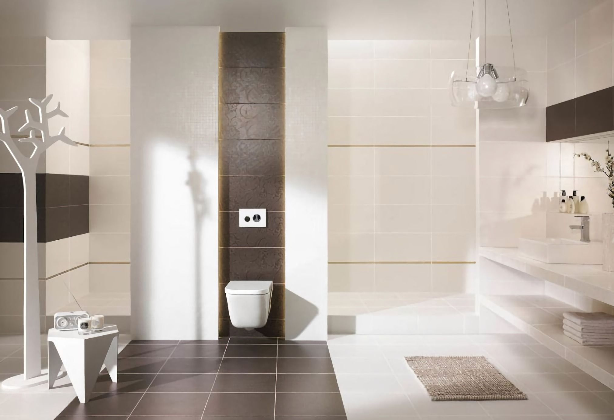 Badezimmer Fliesen Design Ideen Badezimmer Braun Badezimmer