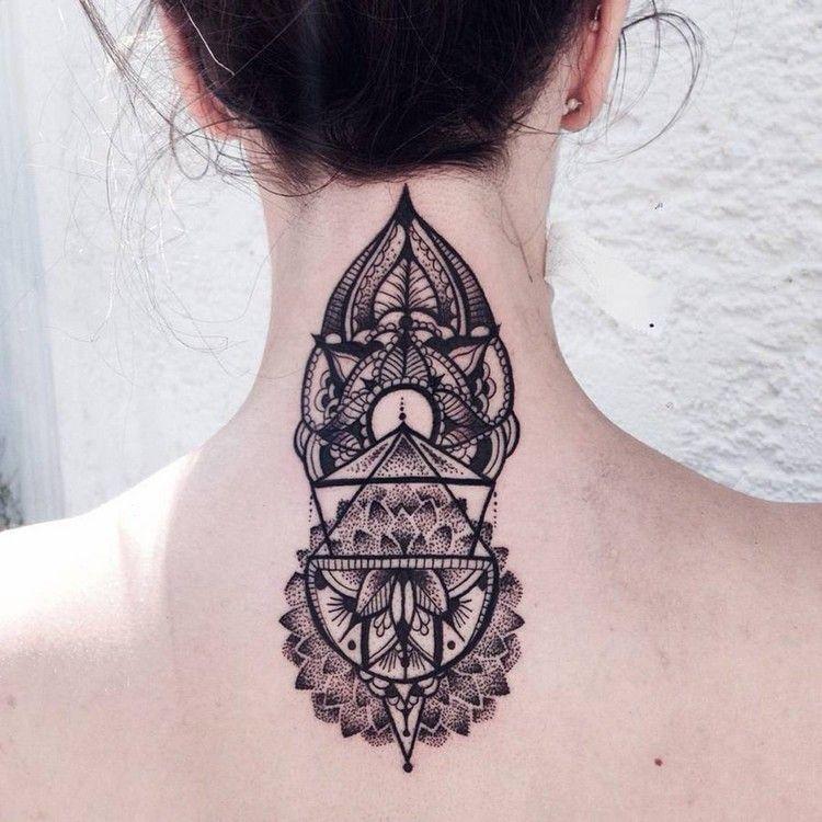 Tatouage Geometrique En 70 Exemples Pour Femmes Et Hommes Ink