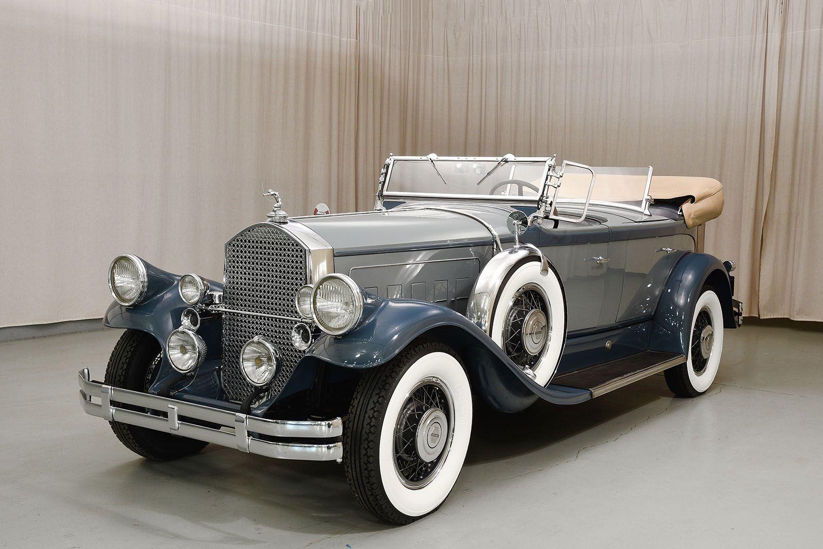 1930 Pierce Arrow Model B - Hyman Ltd. Classic Cars | Автоамерика ...