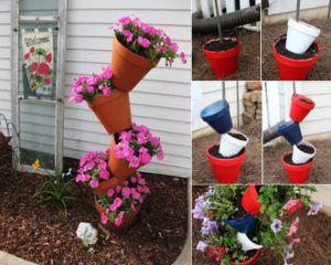 50 Ideen Fur Diy Gartendeko Und Kreative Gartengestaltung Flowers