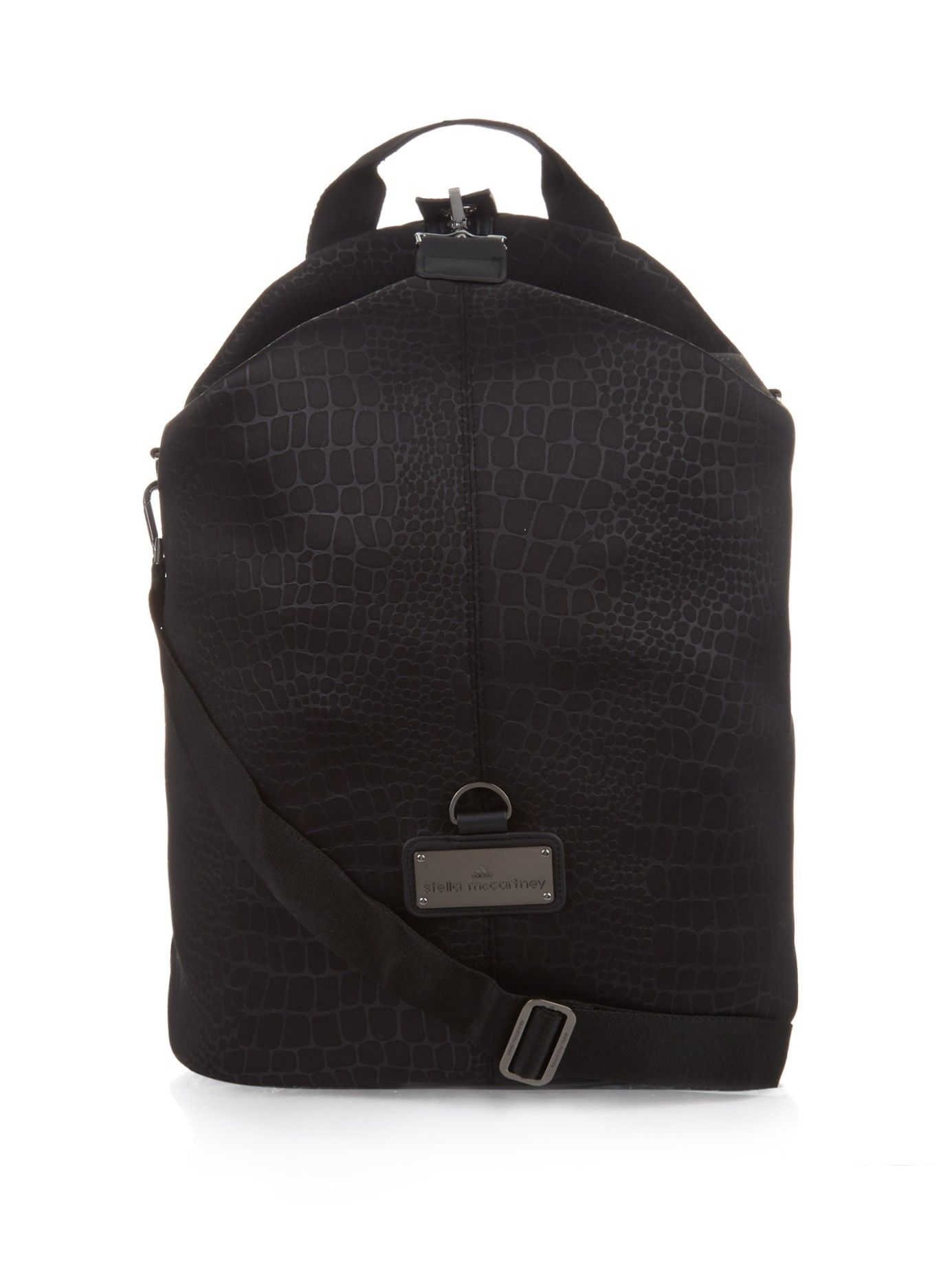 b7883ceafee Animal-print duffle backpack   Adidas By Stella McCartney   MATCHESFASHION. COM US