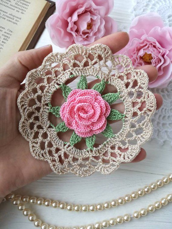 Crochet doily #craftstosell