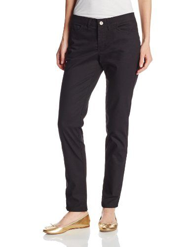 Dickies Womens 5Pocket Slim Skinny Stretch Twill Pant Black 4 Regular *** More info could be found at the image url.