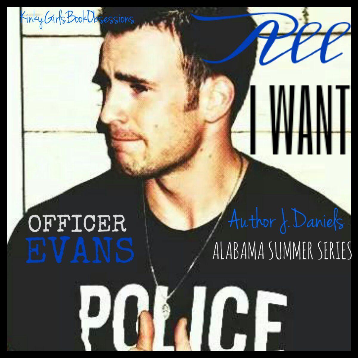 All I Want By Author J Daniels Lukeevans Officerevans Jdaniels Author Favorite Books Luke Evans