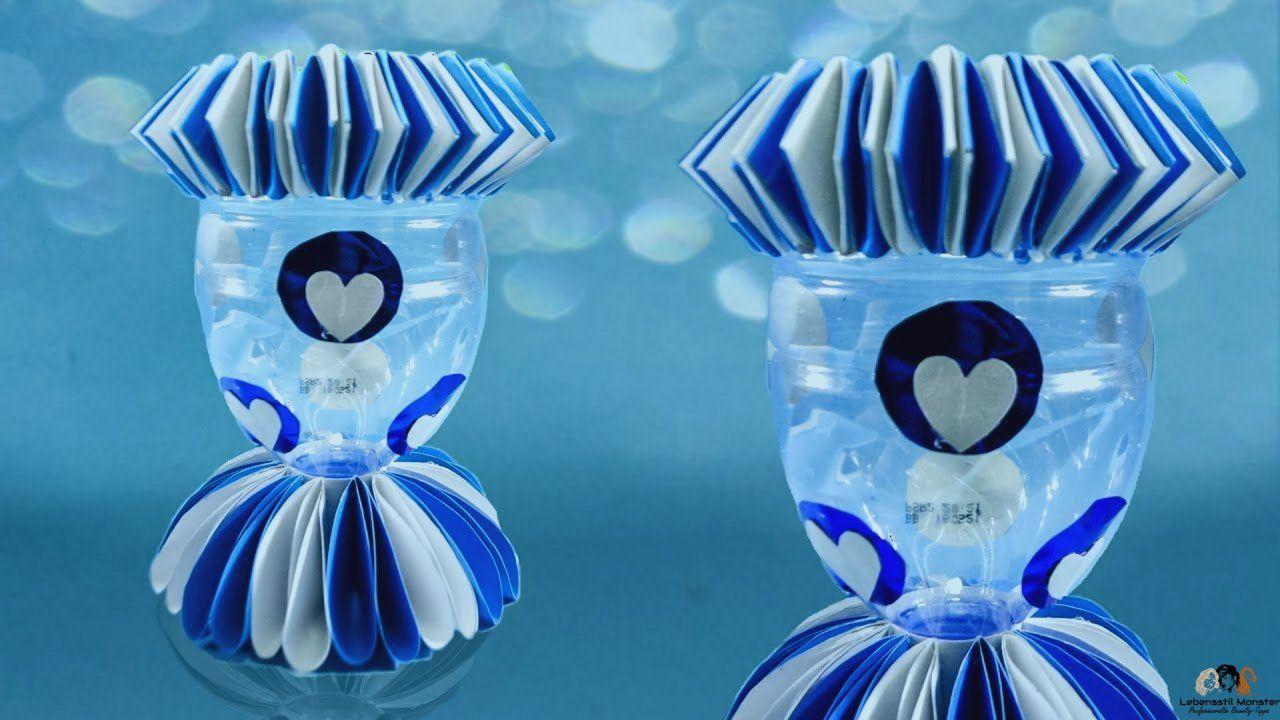 Vas Bunga Dari Botol Bekas 2 Diy Crafts Crafts Dekorasi Rumah