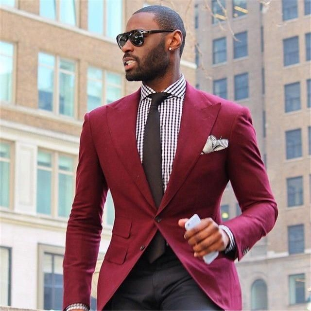 Mens Suits (Jacket+Pants) Casual Designer Summer Beach Wedding Blue Blazer White Pants 2 Pieces FREE SHIPPING 5-9 DAYS