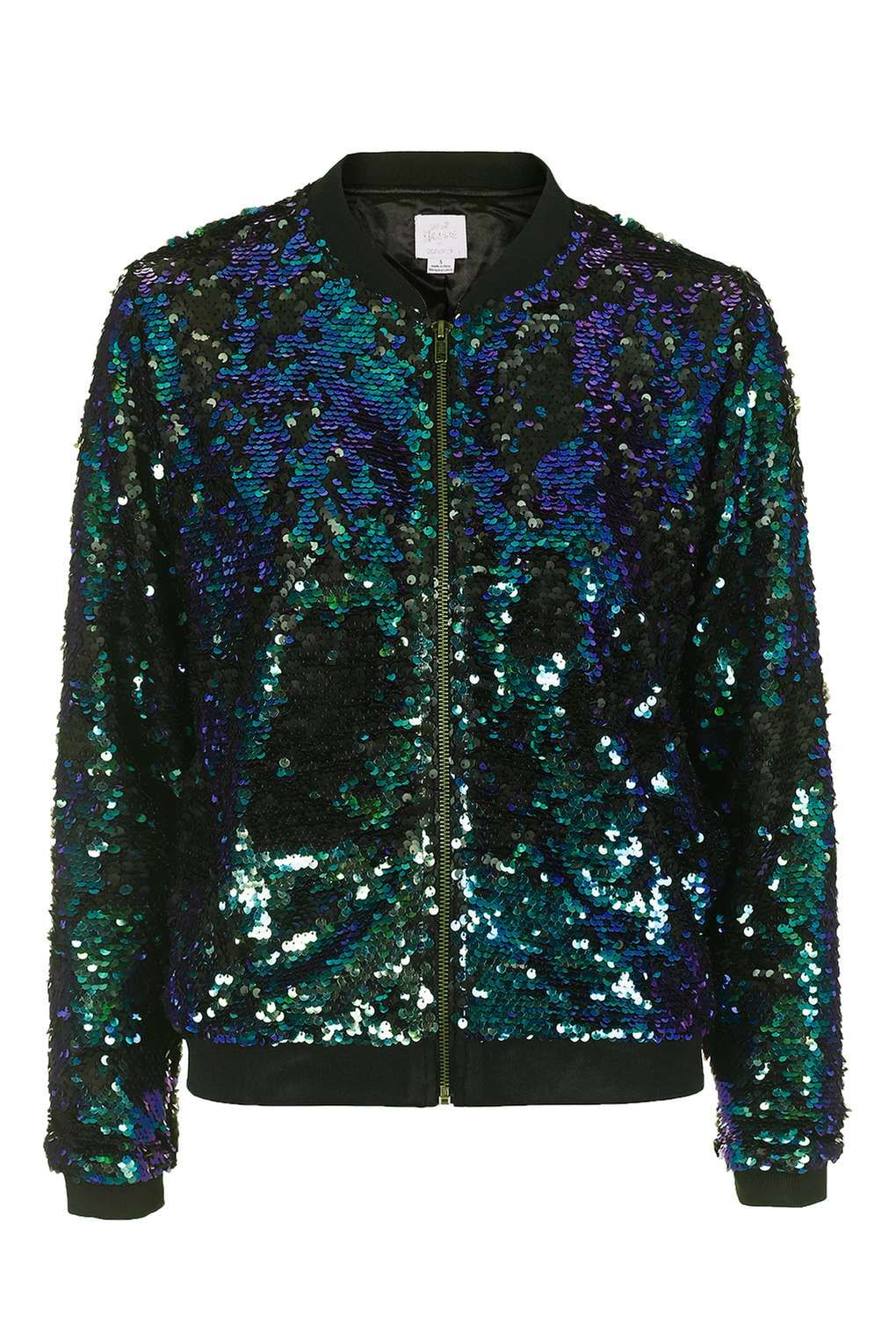 Sequin Bomber Jacket by We All Shine - Clothing  4fb08f90755