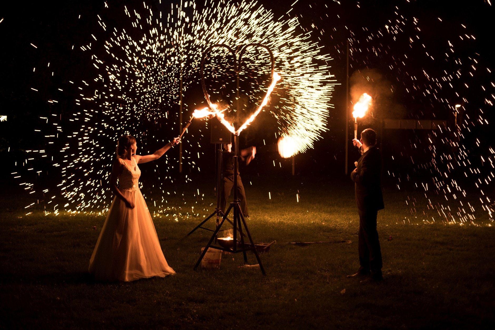 Nürnberg Fotograf eine feuershow bei einer hochzeit ist eine tolle unterhaltung und