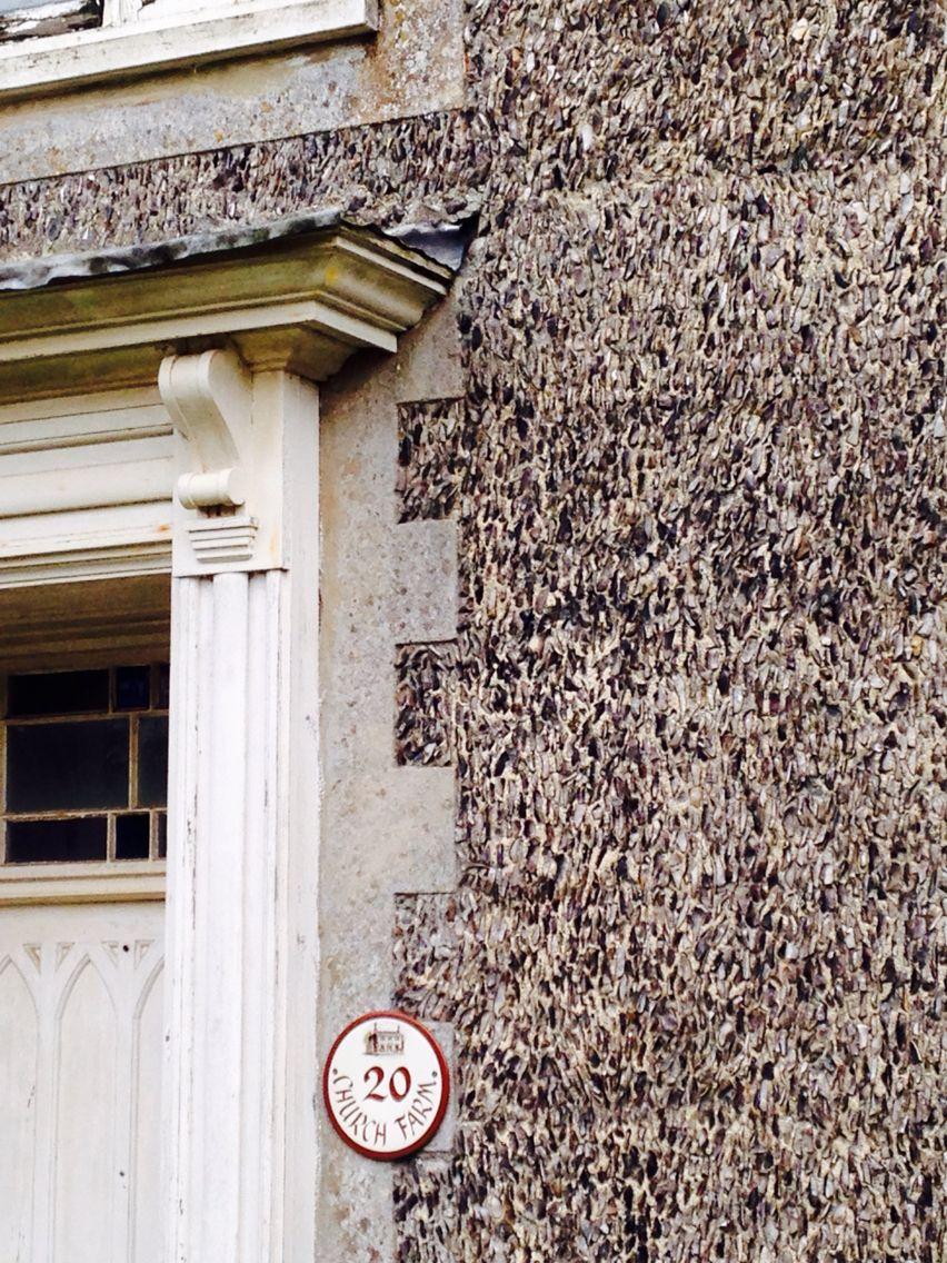 Flint wall, Norfolk
