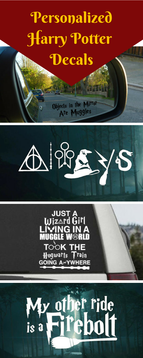 Huge Variety Of Harry Potter Car Decals Vinyl Save For Car And Removable Harrypotter Firebolt Hogwarts Always Cardecal Vinylcling Affiliate [ 1500 x 600 Pixel ]