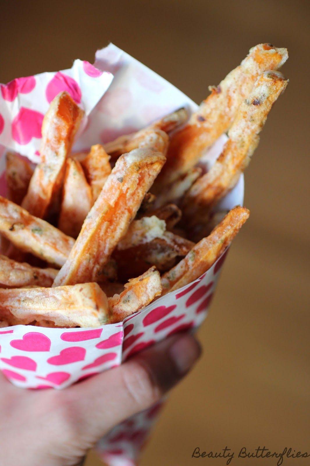 Knusprige Süßkartoffelpommes - Endlich ein Rezept welches funktioniert! ~ Beauty Butterflies